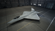 YF-23 AC7 Color 6 Hangar