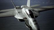 AC7 Super Hornet EML Deployed