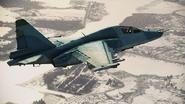 Su-25TM Infinity Flyby
