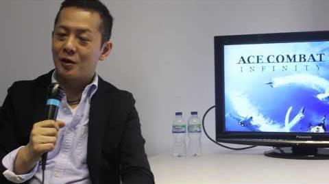 Ace Combat Infinity Interview (with Kono-san)