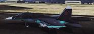 Su-34 -Black Duck- taking off