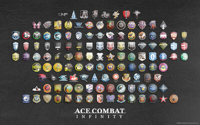 Ace Combat Infinity Emblem Memorial Wallpaper 1920x1200
