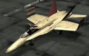 FA-18C ace Vaisala Hangar