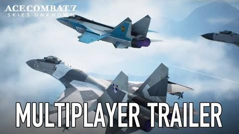 Ace Combat 7 Skies Unknown - PS4 XB1 PC - Multiplayer Trailer