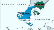 Aurelian war map