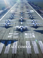 Ace Combat 25th Anniversary Wallpaper 2048x2732