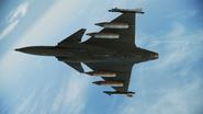 Gripen C -GF- Event Skin 01 Flyby 4