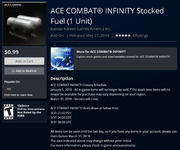 Infinity Shut Down Fuel PSN