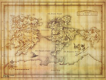 Old Strangereal Map Wallpaper 1024x768