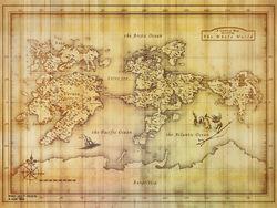 Old Strangereal Map Wallpaper 1024x768