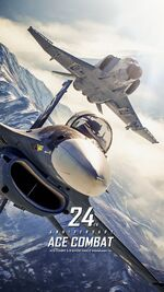 Ace Combat 24th Anniversary Wallpaper