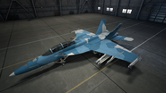 FA-18F AC7 Color 2 Hangar