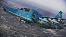 Su-25TM FLYBY