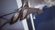 ADF-11F Blurry Flyby