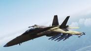 FA-18F -Beast- Flyby