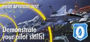 Pilot Aptitude Test Banner