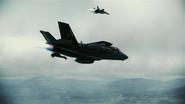 F-35B Pipeline Flyby