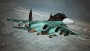 Su-34 AC7 Flyby 3