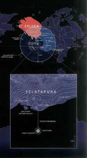 Arsenal Bird defense range and Selatapura plan view