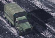 Ural truck front