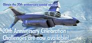 F-4E 20th Anniversary Event Banner