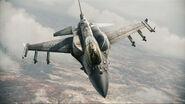 F-16F Assault Horizon Flyby 3