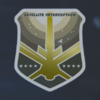 Satellite Interception - Medal of Valor (Gold) Emblem