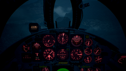 F-104C-AV- Cockpit(Night)