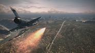 Sky Kid Firing Missile