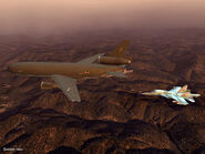 Strike Flanker Refueling (Panoramic)