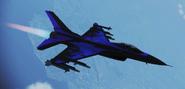 """F-16C """"AC"""" Skin -02 Flyby"""