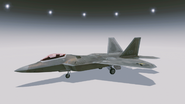 F-22A -Antares- Hangar
