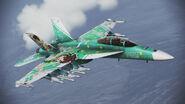 FA-18F -RITSUKO- Side