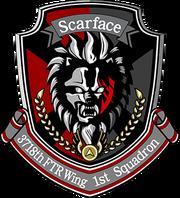 Scarface squadron emblem