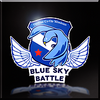 Blue Sky Battle Emblem Icon