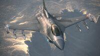 Emmerian F-16C Over Grageo