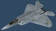 F-22A PMC (Ribbon Body)