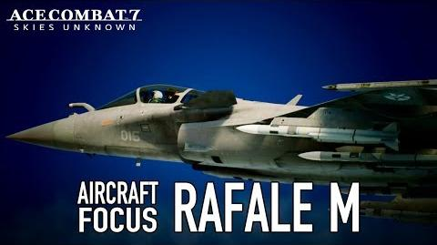 Ace Combat 7 Skies Unknown - PS4 XB1 PC - Rafale M Aircraft Focus
