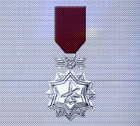 Ace x sp medal silver ace 2