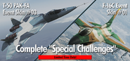 T-50 Event Skin 03 F-16C Event Skin 04 Infinity Banner