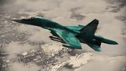 Su-34 Infinity Flyby 1