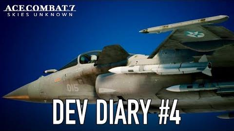 Ace Combat 7 Skies Unknown - PS4 XB1 PC - Dev Diary 4