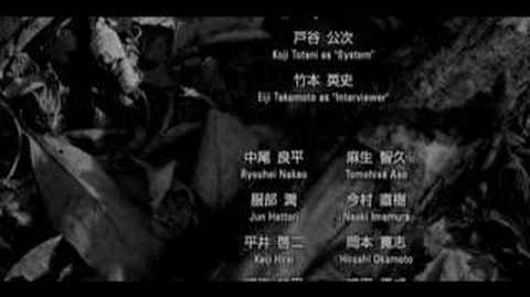Ace Combat Zero - closing credits