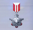 Ace x mp medal red falcon