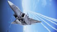 F-22A Gryphus 6AAM bay open