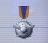 Ace x mp medal silver hawk