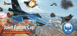 Joint Forces Cup Ranking Tournament Banner