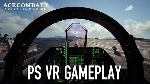Ace Combat 7 Skies Unknown - PS4 VR Gameplay Trailer