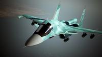 Su-34 AC7 Flyby 1