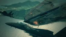 P-1112 Aigaion Crashing